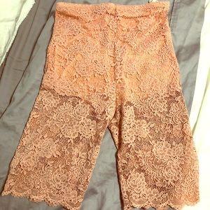 Bianca Lace Bike shorts